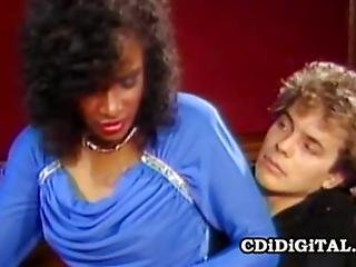 Horny Ebony Babe Dana Dylan Getting Fucked Hard While Being Watched By Angel Kelly