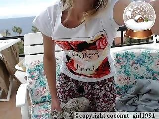 Real Orgasm Shaved Teen Pussy Coconut_girl1991_091216 Chaturbate Live Rec