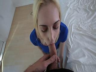 Bitchy Step Sis Sucking Step Bros Cock Deep Throat