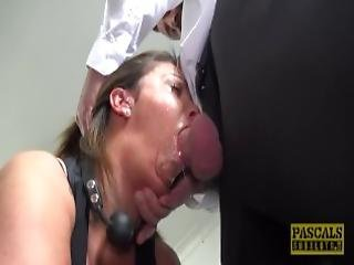 store pupper, pupp, brystet, cowjente, sperm, sperm i munn, cumshot, deepthroat, dominasjon, kvelning, milf, piercet, fitte, grovt, sex, stramt, stram fitte, leker