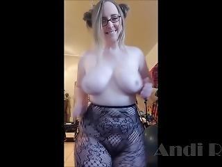 Vlogging Naked #2 // How Curvy Andi Ray Spent Her Christmas Eve On Snapchat
