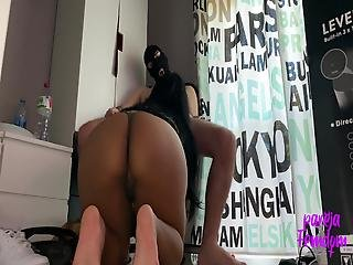 I Am Horny And I Do Blowjob On My Knees Until I Swallow Cum