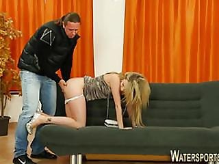 Glam Slut Piss Drenched