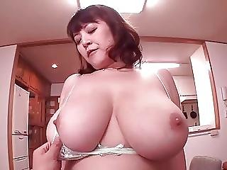 Hot Japanese Bbw Mommy Is Horny