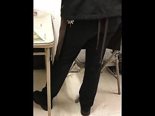 Manager Secretly Recording My Ass In The Office