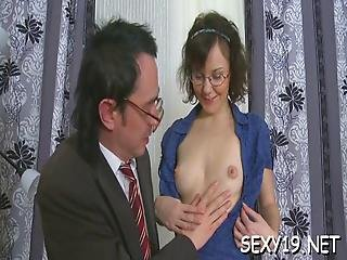 Raunchy Banging With Teacher