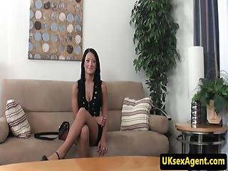 British Casting Amateur Doggystyled By Midget