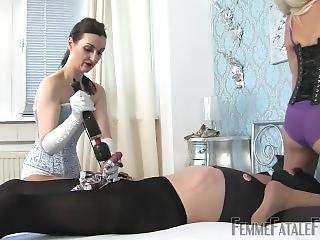 Mistress Satin Massage