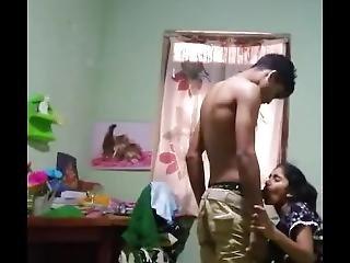 Indian Teenage Bf & Gf Fucking