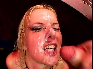 Czech Whore Barbara Summer Gets Some Cumshots On Her Mouth!