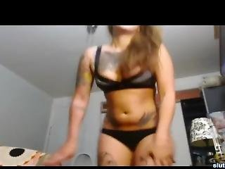 Curvy Emma Teen Kinky Show