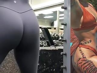 Sereneaznfit Thick Asian Instagram Ass Cum Challenge