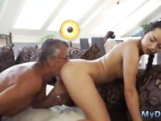 Old mexican granny and its in my ass daddy