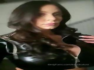 Kendra Lust, 40+, Posing In Leather 2