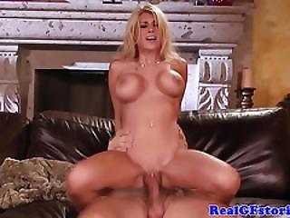 Beautiful Busty Blonde Fucks Her Horny Ex