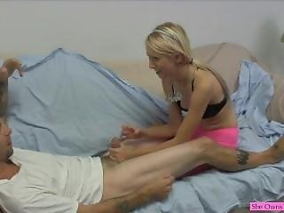 How Difficult It Is To Make A Tired Dick Hard!