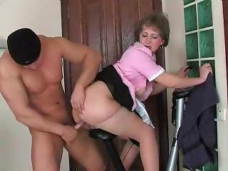Feminine Mature Elvira Have Great Time With Her Alpha-male Nicholas