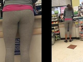 Milf In Grey Yoga Pants