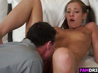 Cute Stepdaughter Molly Manson Gets Nailed
