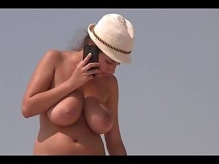 French At The Beach Big Boobs Filmed Hidden