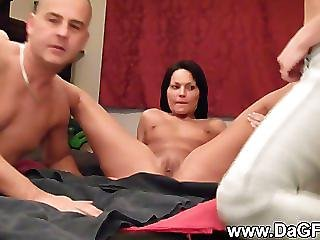 Wet And Wild Squirting Threesome