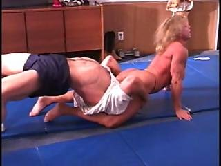 Mixed Wrestling - Fbb Michelle Ivers P2