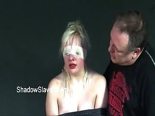 Blonde Teen Slavegirls Rough Orgasm And Caged Whipping Of Young Amateur Submissi