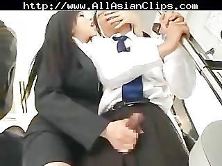 Asian Sexy Handjob In Bus Asian Cumshots Asian Swallow Japanese Chinese