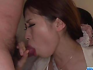 Wife, Rina Koda, Gets Busy With Three Hungry Cocks