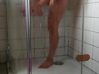 Milf Wife Shower Spy Cam