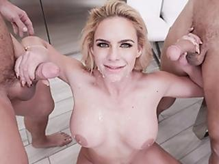 Busty Milf Phoenix Got Whopping Loads Of Cum