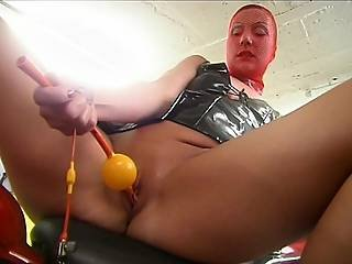Lewd Doxy Plays With Her Snatch