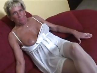 gros téton, mamie, masturbation, solo, jouets, vibrateur