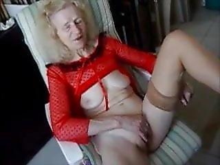 Grandma  Josee  2   Masturbing