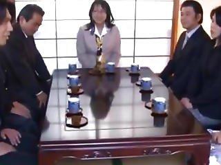 Asian Model Has Public Sex