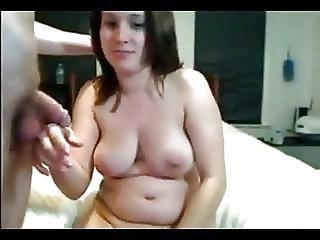 Amateur brunette wife fucks alot of men