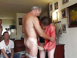 Wet Kissing And Sucking Old Breeding Friends By Dutch Rubens