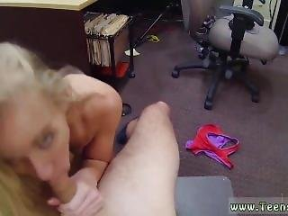 Morning Surprise Amateur Blonde Silly Tries To Sell Car, Sells Herself