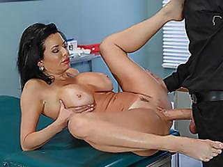 Busty Milf Veronica Avluv Fucked With A Hot Doctor