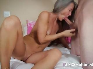 My Mom Fucked My Boyfriend In My Bed!! Milf Fucked By Young Cock