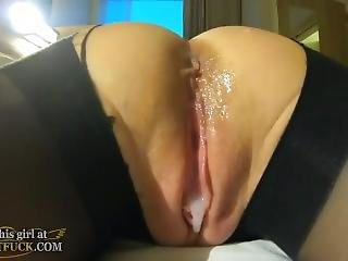 Creampie With Amazing Lingerie Janet