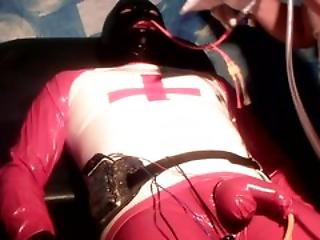 Latex Rubber Stomach Tube Filled With The Juice Of Her