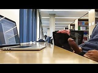 Flashing In Front Of Teens At Library With Thick Cock