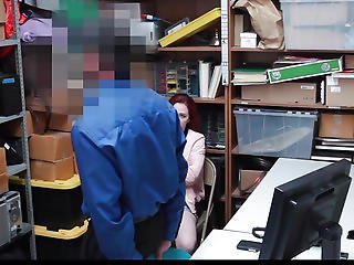Shoplyfter Menacing-fearsome Legal Age Teenager Bare Down & Screwed By Creepy Boy