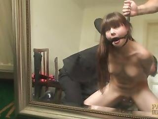 Asian head in japanese pussy