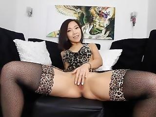 Asian Girl Anal Belly Bulge