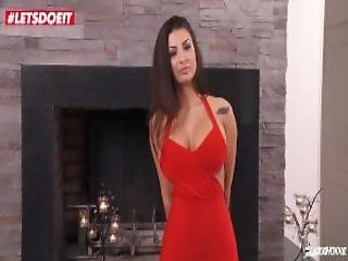 Letsdoeit Stunning Spanish Babe Susy Gala Loves To Swallow French Cum