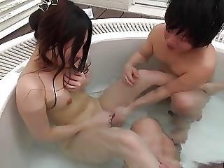 Badekar, Kneppe, Japansk, Kar