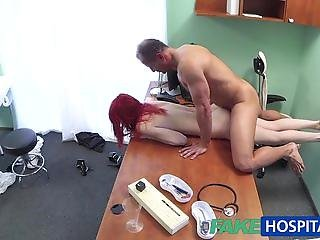 FakeHospital Cute redhead fucked by doctor