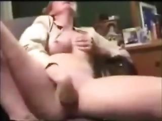 Horny Mom Masturbates To Orgasm Vintage